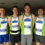 Greg Ali James C and James S prior to the marathon